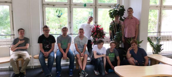 Neue Pflanzen für unser Foyer