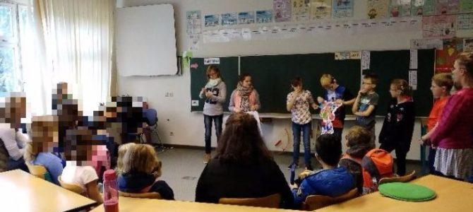 Berliner Schüler der Ernst-Adolf-Eschke-Schule bei uns in Potsdam