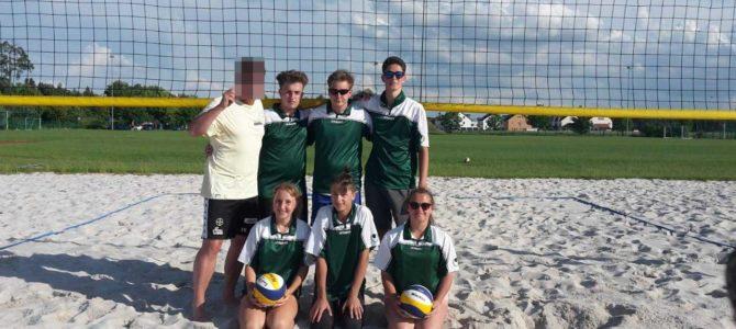 Herzlichen Glückwunsch unseren erfolgreichen Beachvolleyball-Spielern