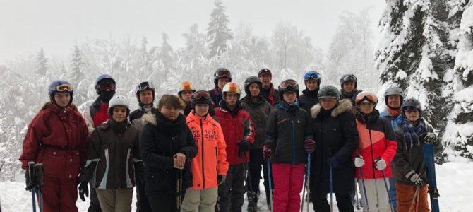 Skilager in Tschechien