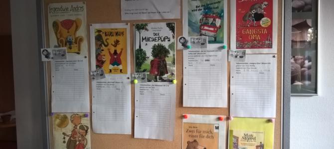 Bundesweiter Vorlesetag am 15.11.2019: Lesen und lesen lassen an der WvT-Schule